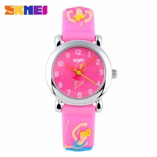 đồng hồ cho bé gái skmei 1047