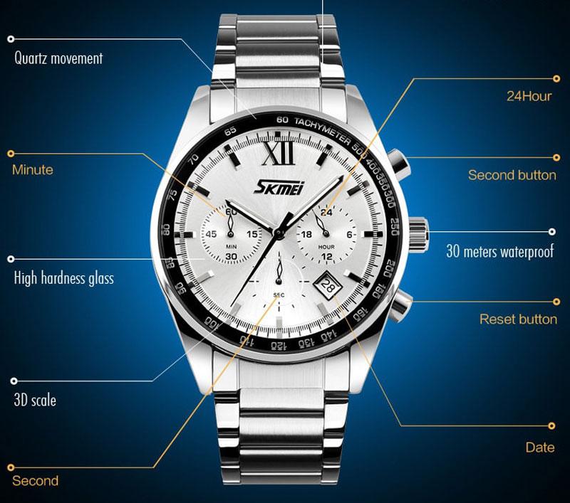 đồng hồ skmei 9096