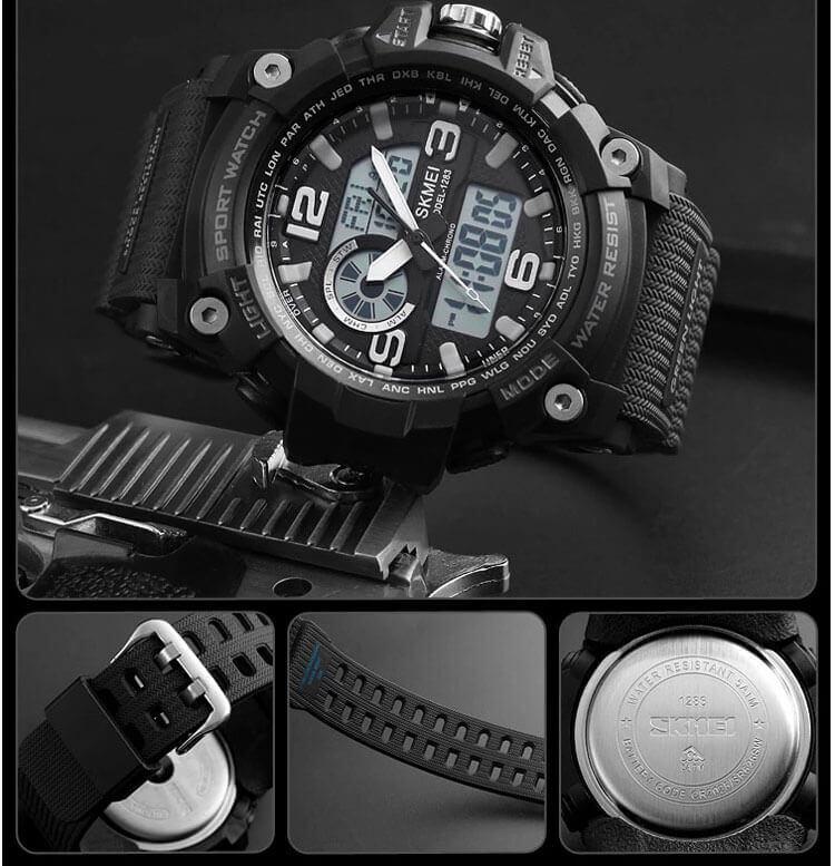 đồng hồ skmei 1283 chính hãng