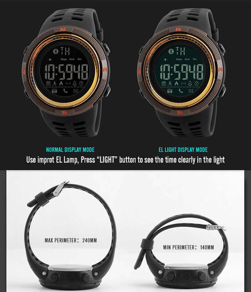 đồng hồ thể thao skmei 1250