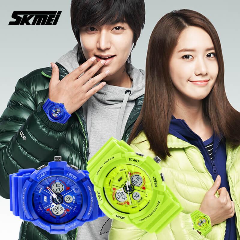 đồng hồ thể thao nữ skmei 0966
