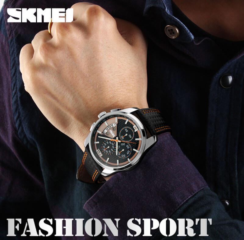đồng hồ nam skmei 9106