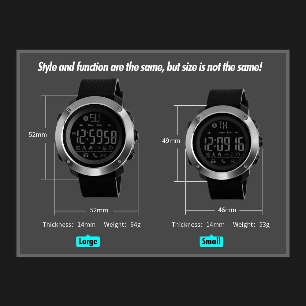 Đồng hồ thông minh skmei 1285 ,1287