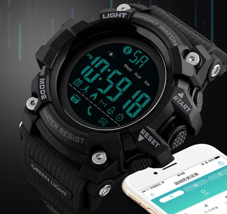 đồng hồ thông minh skmei 1385