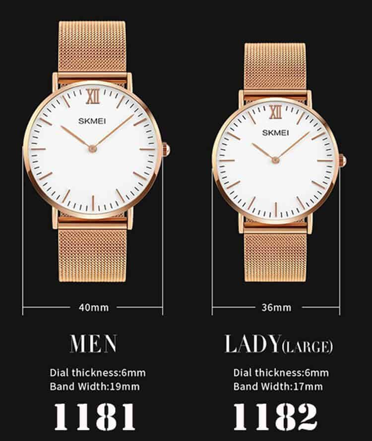 đồng hồ đôi skmei 1181-1182