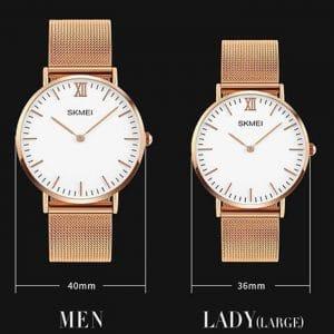 đồng hồ đôi skmei 1182