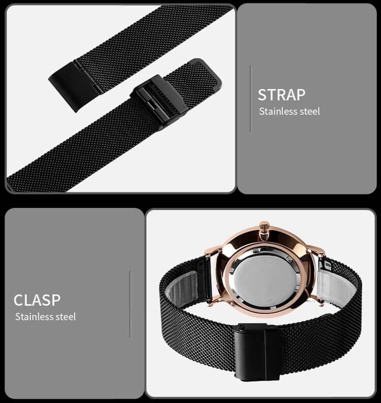 dây đồng hồ skmei 9183