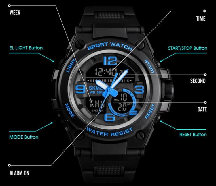 Đồng hồ skmei 1452