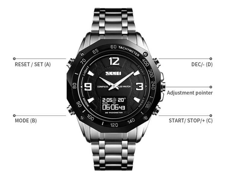 đồng hồ skmei 1464