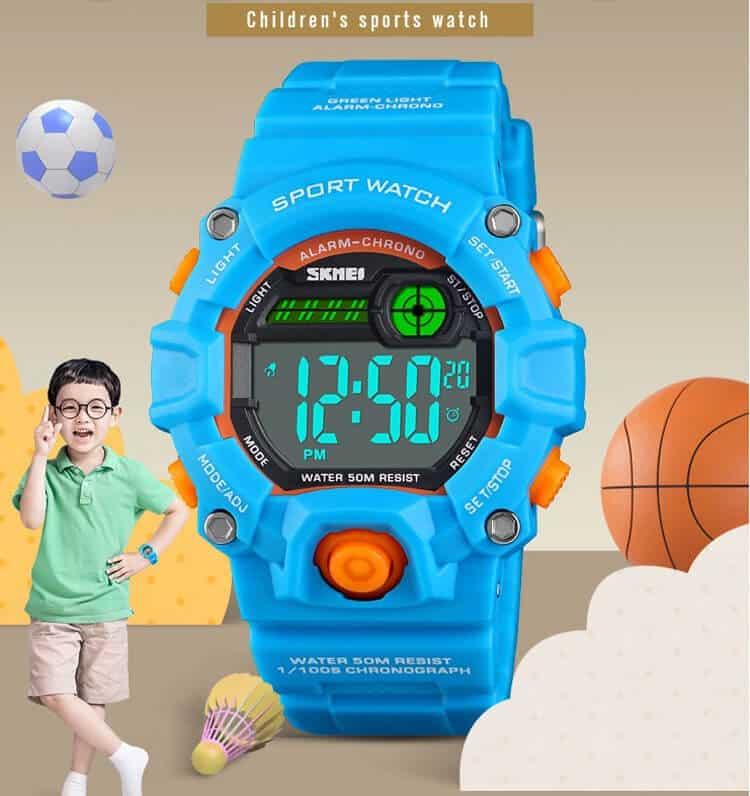 đồng hồ trẻ em skmei 1484