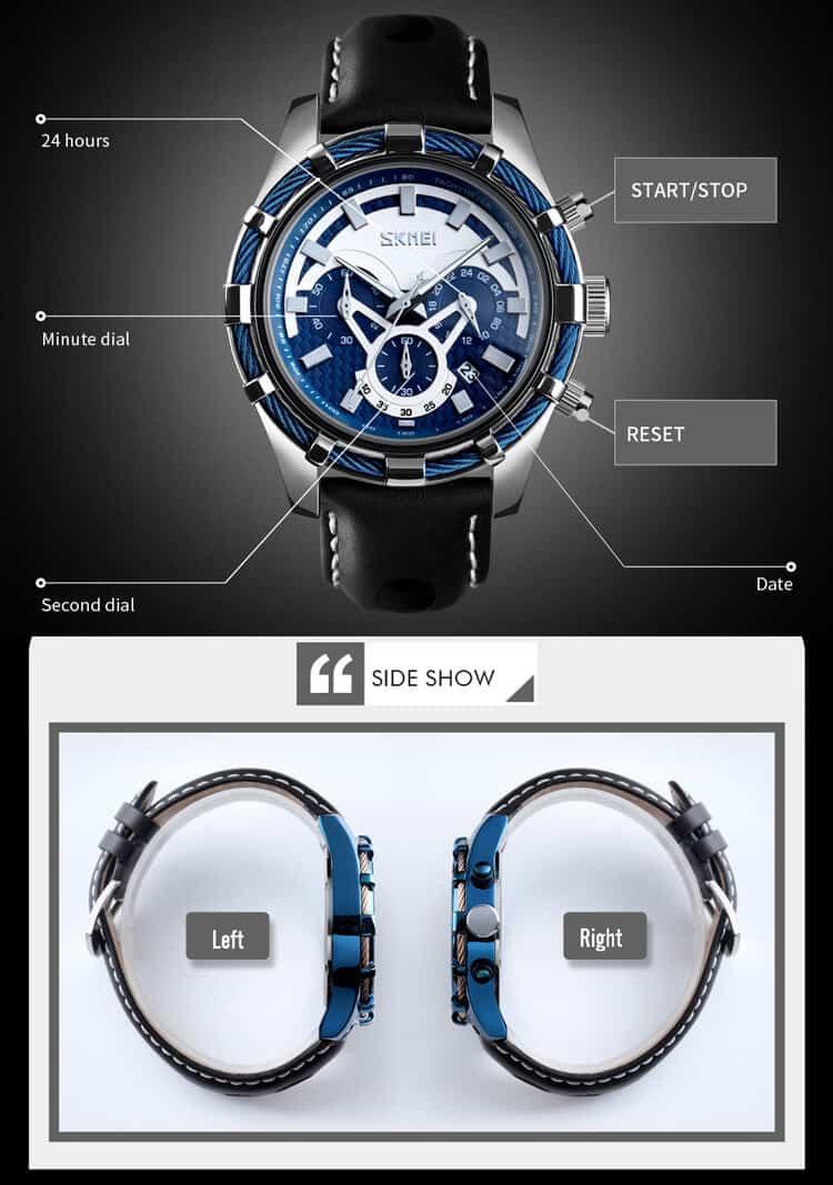 đồng hồ skmei 9189