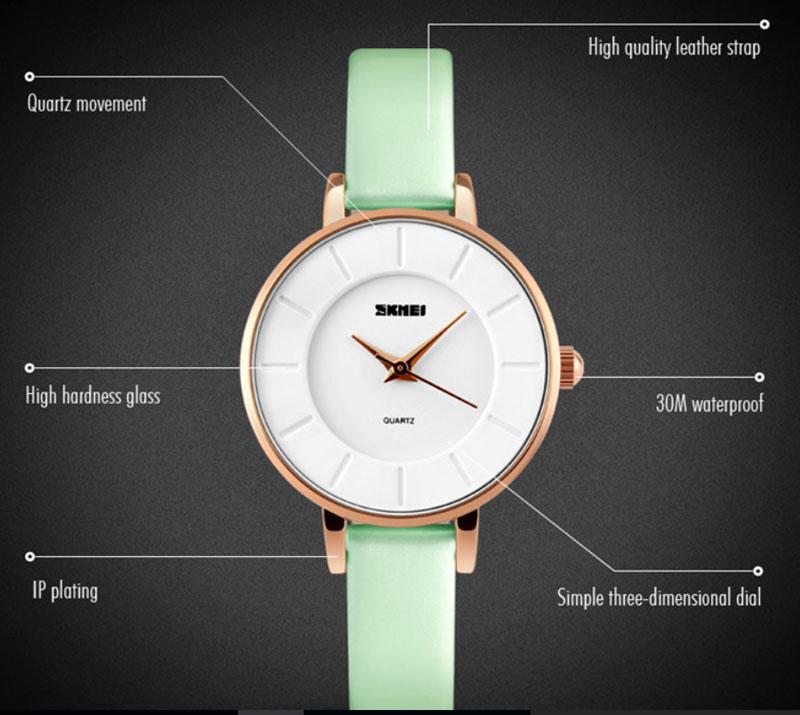 Đồng hồ nữ Skmei SK1823