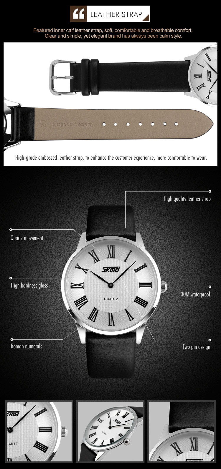 Đồng hồ đôi skmei 9092cl